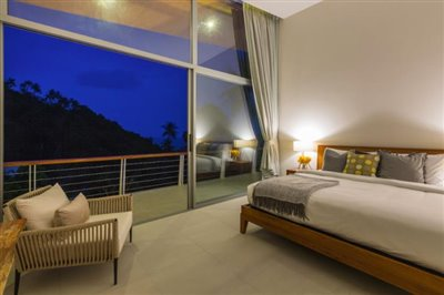 Modern-Sea-View-Villa-Lamai-Bedroom