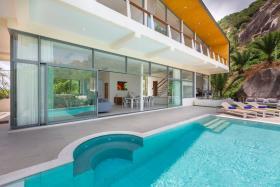 Image No.3-Maison / Villa de 4 chambres à vendre à Lamai