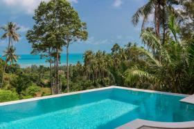 Image No.4-Maison / Villa de 4 chambres à vendre à Lamai