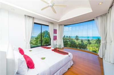 White-Stone-Villa-Ko-Samui-Bedroom-View