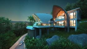 Image No.2-Maison / Villa de 4 chambres à vendre à Laem Set