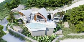 Image No.10-Maison / Villa de 4 chambres à vendre à Laem Set