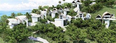 Nakara-Villas-Samui-Site-Rendering