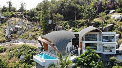 Nakara-Villas-Samui-Aerial-Side