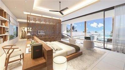 Absolute-Beachfront-Villa-For-Sale-Ko-Samui-Bedroom-3