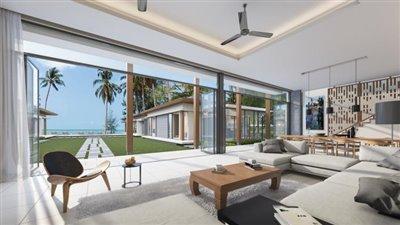 Absolute-Beachfront-Villa-For-Sale-Ko-Samui-Living-View