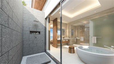 Absolute-Beachfront-Villa-For-Sale-Ko-Samui-Outdoor-Shower