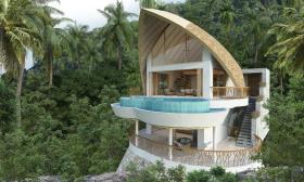 Image No.2-Maison / Villa de 2 chambres à vendre à Laem Set