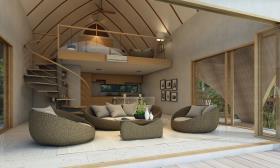 Image No.3-Maison / Villa de 2 chambres à vendre à Laem Set