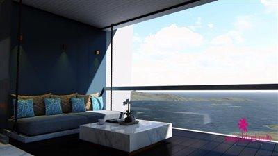 The-Master-Peak-Luxury-Condominium-Samui-Bedroom-Terrace
