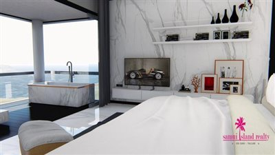 The-Master-Peak-Luxury-Condominium-Samui-Master-Bedroom