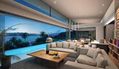 Sun-Cliff-Villas-Ko-Samui-Open-Plan-Living