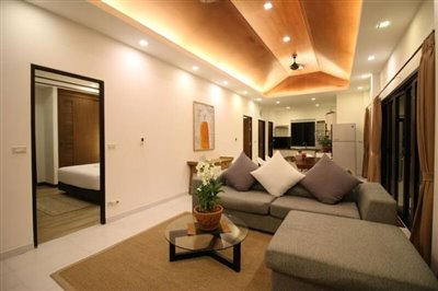 Chaweng-Noi-Tropical-Paradise-Villa-Living-Night