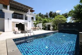 Image No.1-Maison / Villa de 3 chambres à vendre à Chaweng Noi