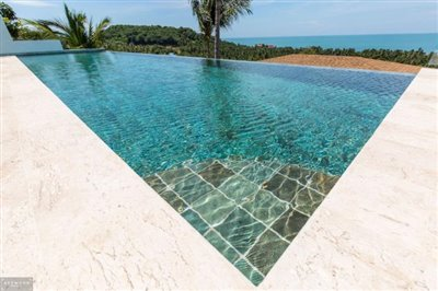 Contemporary-Sea-View-Villas-For-Sale-Koh-Samui-Infinity-Pool