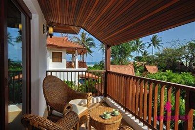 Baan-Keaa-Koh-Samui-Bedroom-Balcony
