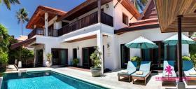 Image No.1-Maison / Villa de 4 chambres à vendre à Hua Thanon