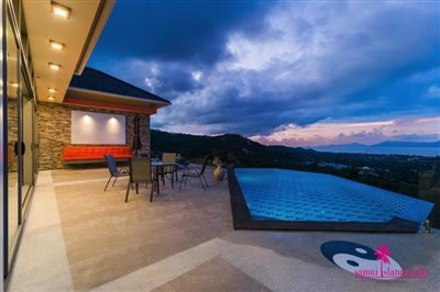bophut-5-bedroom-sea-view-villa-for-sale-evening