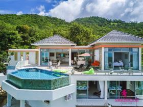Image No.1-Maison / Villa de 5 chambres à vendre à Bo Phut