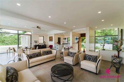 bophut-5-bedroom-sea-view-villa-for-sale-open-plan-living