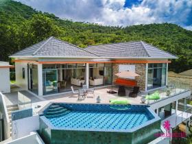 Image No.3-Maison / Villa de 5 chambres à vendre à Bo Phut