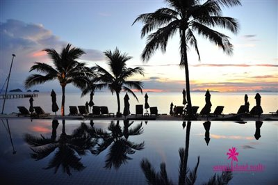 InterContinental-Villa-For-Sale-At-Koh-Samui-Communal-Pool