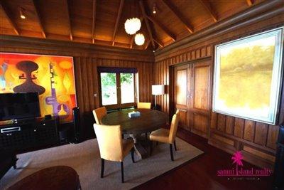 InterContinental-Villa-For-Sale-At-Koh-Samui-Dining