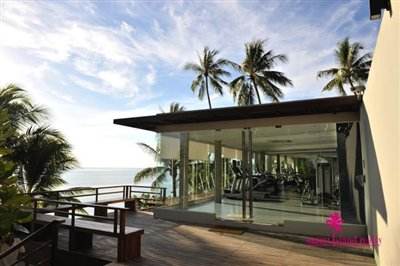 InterContinental-Villa-For-Sale-At-Koh-Samui-Gym