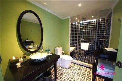 InterContinental-Villa-For-Sale-At-Koh-Samui-Shower