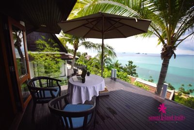 InterContinental-Villa-For-Sale-At-Koh-Samui-Terrace-View-1