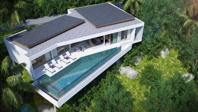 Luxury-Sea-View-Investment-Property-Ko-Samui-Aerial