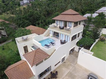 Chaweng-Hills-Villa-For-Sale-Koh-Samui-Aerial-Exterior