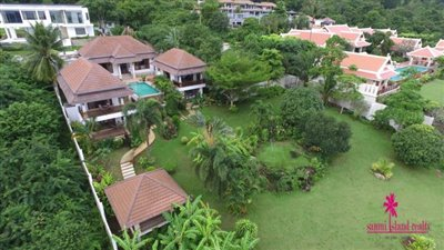Bophut-Hills-Villa-Ko-Samui-Landscaped-Gardens