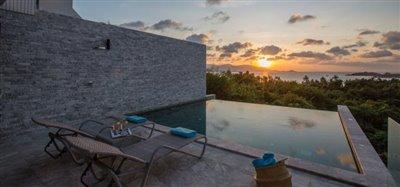 Property-For-Sale-In-Plai-Laem-Ko-Samui-Sunset