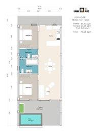 Sea-view-unique-2-bedroom-apartments-3rd-floor-corner-penthouse-unit-Q-R-S