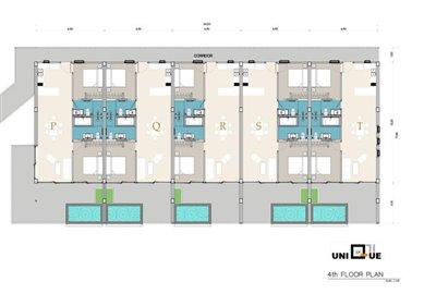Sea-view-unique-2-bedroom-apartments-4th-floor-plan