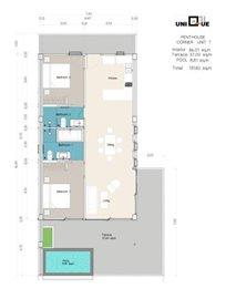 Sea-view-unique-2-bedroom-apartments-3rd-floor-corner-penthouse-unit-T5