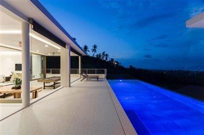 Asia-Villa-Ko-Samui-Terrace-Night