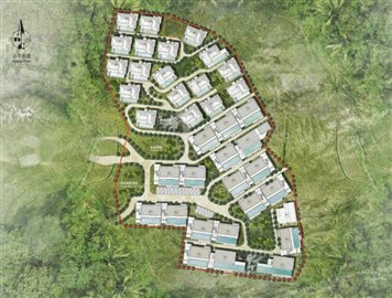 Anzhu-Seamate-Development-Ko-Samui-Site-Plan