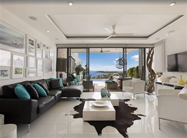 Baysides-Luxury-Duplex-Villa-Ko-Samui-Living