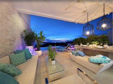 Baysides-Luxury-Duplex-Villa-Ko-Samui-Terrace-Living