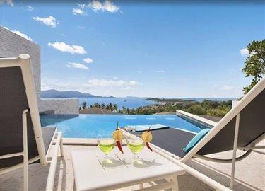 Baysides-Luxury-Duplex-Villa-Ko-Samui-Sun-Loungers