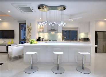 Baysides-Luxury-Duplex-Villa-Ko-Samui-Breakfast-Bar