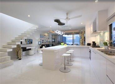 Baysides-Luxury-Duplex-Villa-Ko-Samui-Kitchen