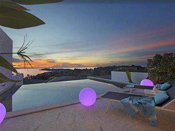 Baysides-Luxury-Duplex-Villa-Ko-Samui-Sunset