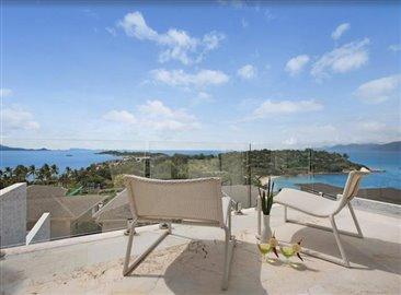 Baysides-Luxury-Duplex-Villa-Ko-Samui-Master-Balcony