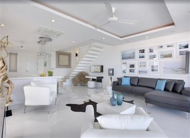 Baysides-Luxury-Duplex-Villa-Ko-Samui-Open-Plan-Living