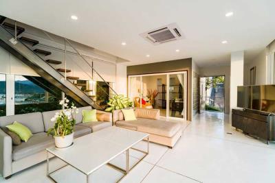 Unique-Sunset-Villa-For-Sale-Ko-Samui-Living
