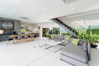 Unique-Sunset-Villa-For-Sale-Ko-Samui-Open-Plan-Living