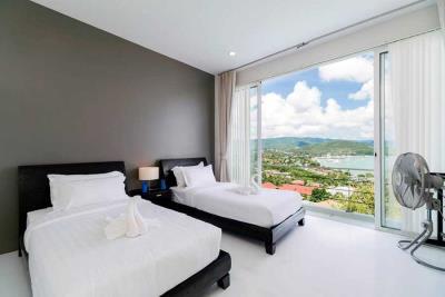 Unique-Sunset-Villa-For-Sale-Ko-Samui-Guest-Bedroom